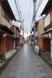 Via di Kyoto, Giappone Fotografia Stock