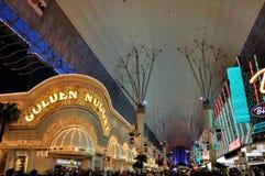 Via di Las Vegas Fremont Fotografia Stock