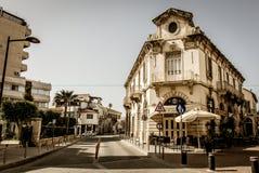Via di Limassol Immagine Stock Libera da Diritti