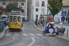 Via di Lisbona Fotografia Stock Libera da Diritti