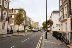 Via di Londra Immagine Stock