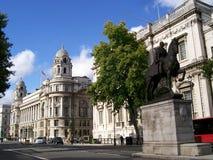 Via di Londra Fotografie Stock Libere da Diritti