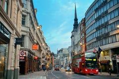 Via di Londra Fotografia Stock