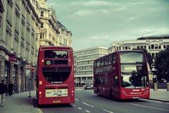 Via di Londra Fotografia Stock Libera da Diritti