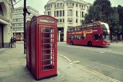Via di Londra Immagine Stock Libera da Diritti