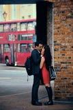 Via di Londra Immagini Stock
