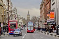 Via di Londra Immagini Stock Libere da Diritti