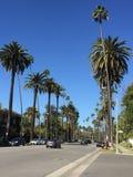 Via di Los Angeles Immagini Stock Libere da Diritti