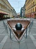 Via di Malaya Sadovaya, St Petersburg fotografia stock libera da diritti