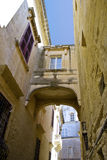 Via di Malta immagine stock
