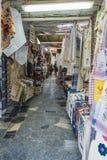 Via di Matala Fotografia Stock
