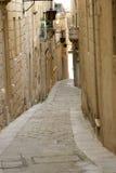 Via di Mdina, Malta Fotografie Stock Libere da Diritti