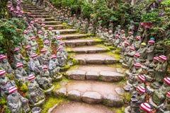 Via di Miyajima, Giappone Fotografia Stock Libera da Diritti