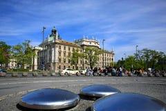 Via di Monaco di Baviera   Immagini Stock Libere da Diritti