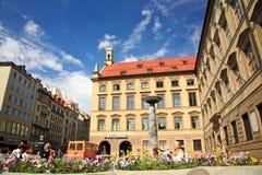 Via di Monaco di Baviera Fotografie Stock