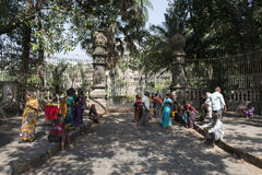Via di Mumbai L'India Immagini Stock Libere da Diritti