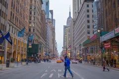 Via di New York City Immagini Stock Libere da Diritti