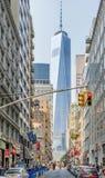 Via di New York City Fotografia Stock Libera da Diritti