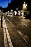 Via di notte Immagine Stock