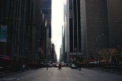 Via di NYC Immagini Stock