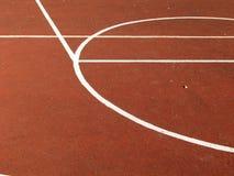 via di pallacanestro Fotografia Stock Libera da Diritti