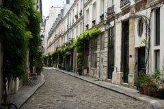 Via di Parigi Fotografia Stock Libera da Diritti