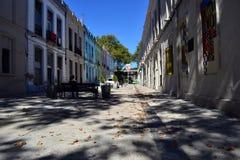Via di peatonal di Montevideo fotografia stock