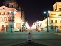 Via di Piotrkowska Immagini Stock Libere da Diritti