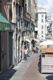 Via di Porta Soprana, Genova Royalty Free Stock Photography