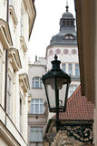 Via di Praga Immagini Stock Libere da Diritti