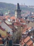 Via di Praga Immagine Stock Libera da Diritti