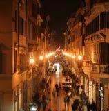 Via di Roma Immagini Stock