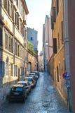 Via di Roma Fotografie Stock Libere da Diritti
