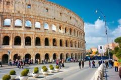Via di Roma Colosseum Fotografia Stock Libera da Diritti