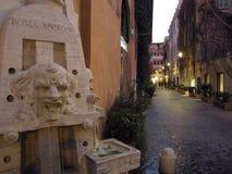 Via di Roma Margutta immagini stock