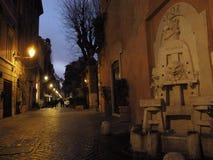 Via di Roma Margutta fotografie stock libere da diritti