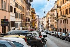 Via di S Maria Maggiore Fotografia Stock
