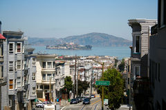 Via di San Francisco fotografie stock