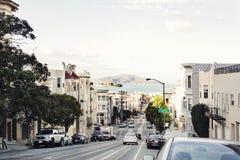Via di San Francisco fotografia stock libera da diritti