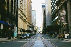Via di San Francisco Immagine Stock Libera da Diritti