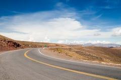 Via di sogno Salta Jujuy nelle Ande, Argentina Fotografia Stock Libera da Diritti