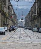 Via di Torino Immagine Stock