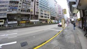 Via di traffico di Canton Canton congestionato il traffico stradale Guangzhou, porcellana - il tempo occupato, automobili ha ammu video d archivio