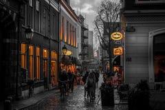 Via di Utrecht Fotografia Stock