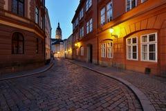 Via di vecchia città Fotografia Stock Libera da Diritti