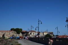 Via di vecchia città Nessebar Fotografia Stock Libera da Diritti