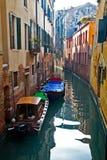 Via di Venezia Fotografia Stock