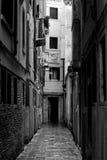 Via di Venezia, viale solo Fotografie Stock Libere da Diritti