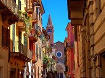 Via di Verona Immagine Stock Libera da Diritti