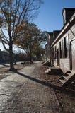 Via di Williamsburg del coloniale Fotografie Stock Libere da Diritti